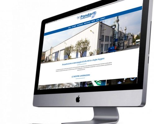 nuovo sito web fondart
