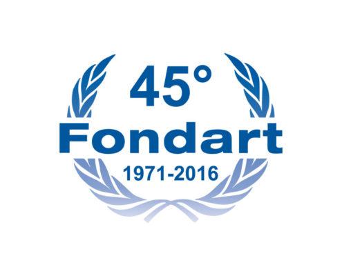 logo 45 anniversario Fondart